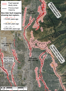 Wasatch Front Fault Zone