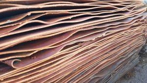 Refined copper