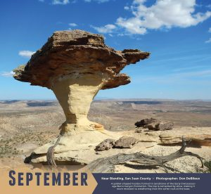 Utah Geological Survey Launched 2019 Calendar of Utah Geology | Utah