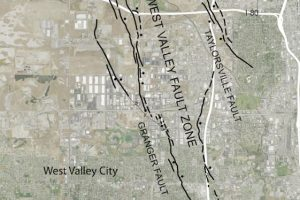 West Valley fault area